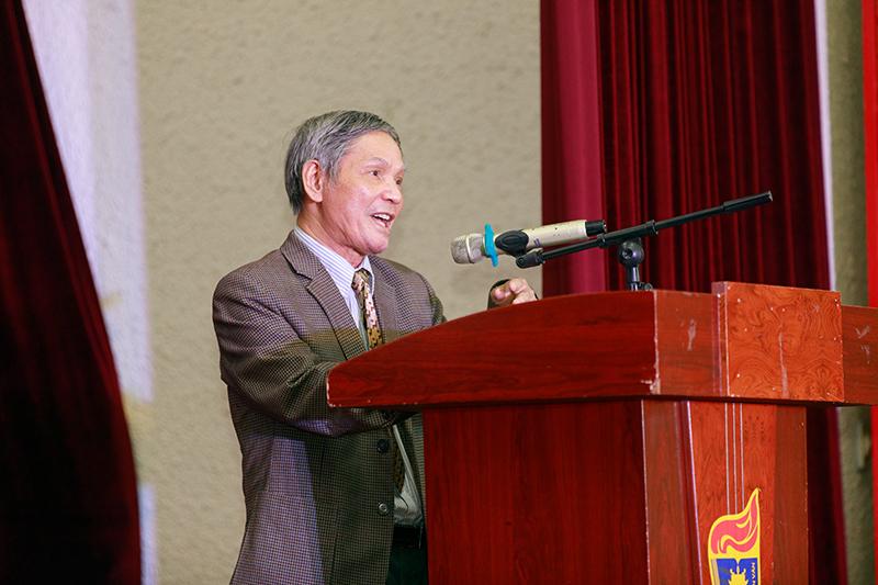 Bài phát biểu trong buổi Gặp mặt chào mừng ngày Nhà giáo Việt Nam 20 - 11 – 2020 và chào đón tân sinh viên khóa 65 của Giáo sư Nhà giáo Nhân dân Nguyễn Thiện Giáp